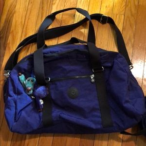 Kipling duffel and small backpack